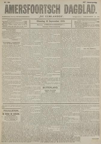 Amersfoortsch Dagblad / De Eemlander 1913-09-16