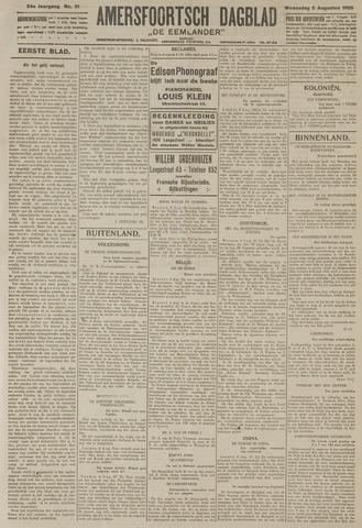 Amersfoortsch Dagblad / De Eemlander 1925-08-05