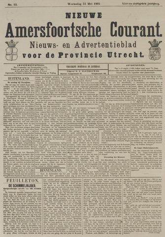 Nieuwe Amersfoortsche Courant 1905-05-31
