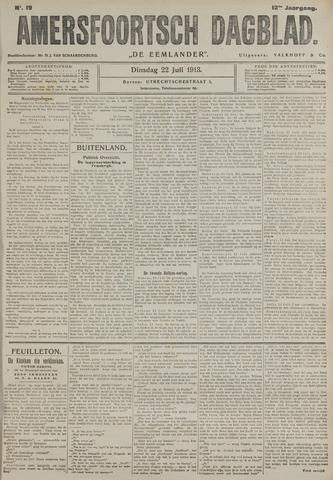 Amersfoortsch Dagblad / De Eemlander 1913-07-22