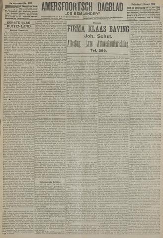 Amersfoortsch Dagblad / De Eemlander 1919-03-01