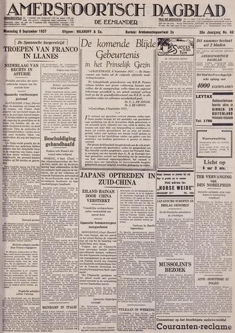 Amersfoortsch Dagblad / De Eemlander 1937-09-08