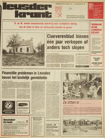 Leusder Krant 1981-10-29