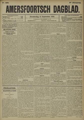 Amersfoortsch Dagblad 1910-09-15