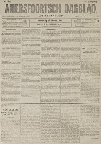 Amersfoortsch Dagblad / De Eemlander 1913-03-17