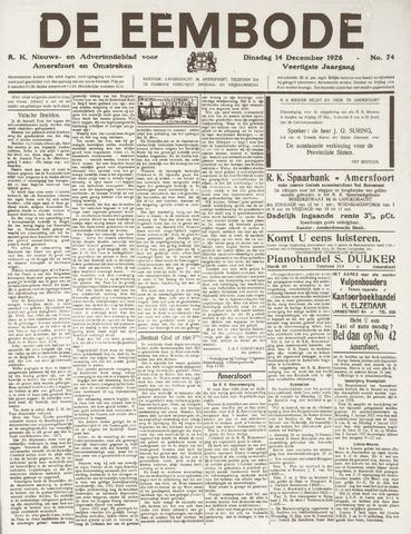 De Eembode 1926-12-14