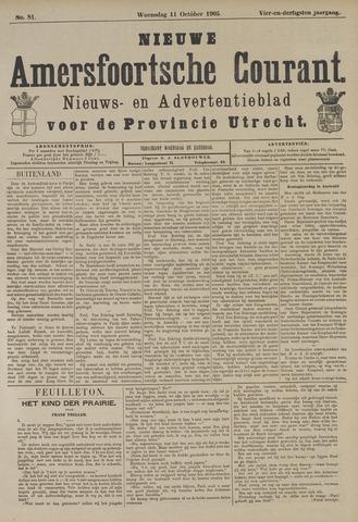 Nieuwe Amersfoortsche Courant 1905-10-11