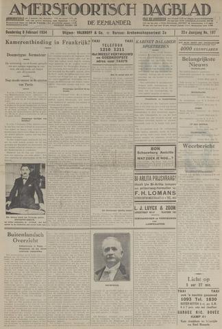 Amersfoortsch Dagblad / De Eemlander 1934-02-08