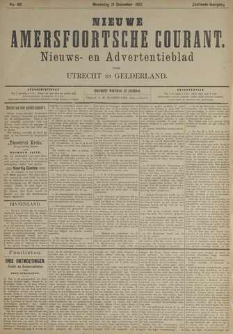 Nieuwe Amersfoortsche Courant 1887-12-21