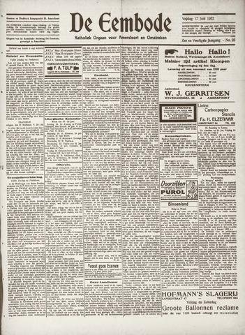 De Eembode 1932-06-17