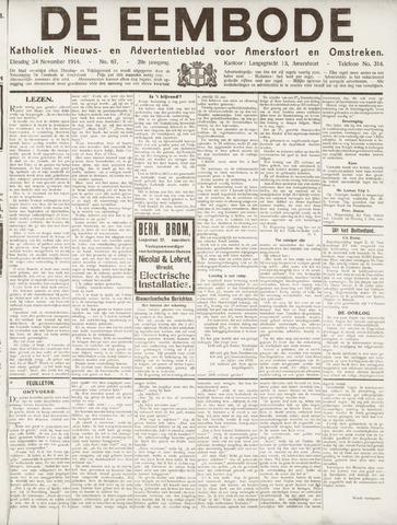 De Eembode 1914-11-24