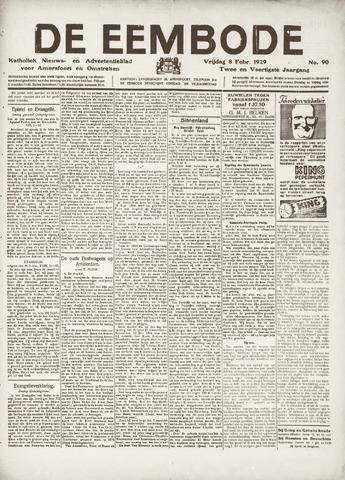 De Eembode 1929-02-08