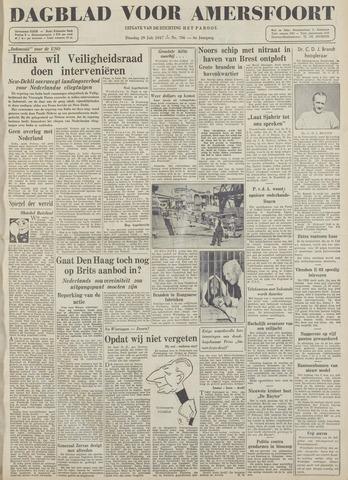 Dagblad voor Amersfoort 1947-07-29