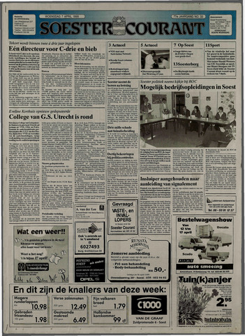 Soester Courant 1999-04-07