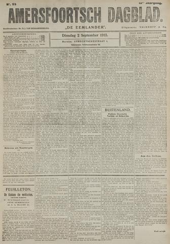 Amersfoortsch Dagblad / De Eemlander 1913-09-02