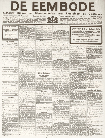 De Eembode 1916-04-14