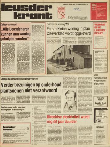 Leusder Krant 1981-06-23