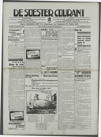 Soester Courant 1940-03-22