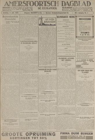 Amersfoortsch Dagblad / De Eemlander 1931-07-04