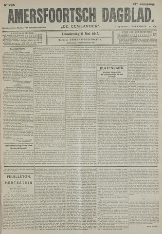 Amersfoortsch Dagblad / De Eemlander 1915-05-06