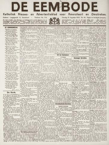 De Eembode 1915-08-31