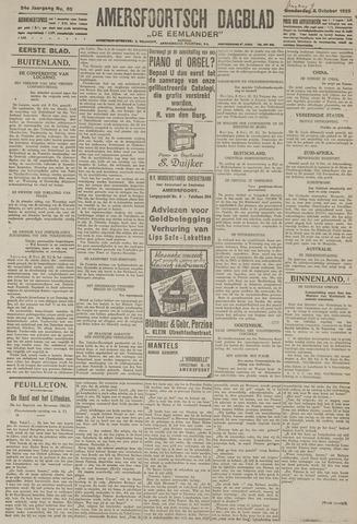 Amersfoortsch Dagblad / De Eemlander 1925-10-09