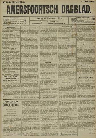 Amersfoortsch Dagblad 1904-11-19