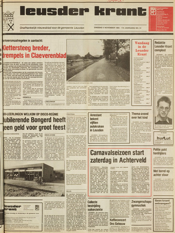 Leusder Krant 1985-11-05