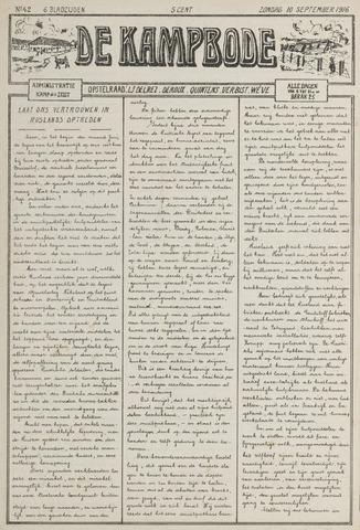 De Kampbode 1916-09-10