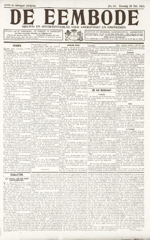 De Eembode 1913-10-28