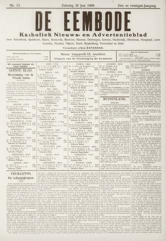 De Eembode 1909-06-26