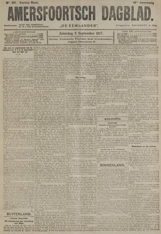 Amersfoortsch Dagblad / De Eemlander 1917-09-08