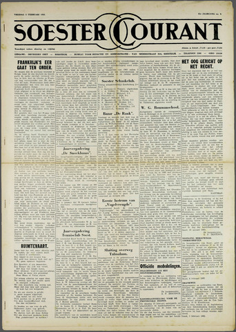 Soester Courant 1962-02-02