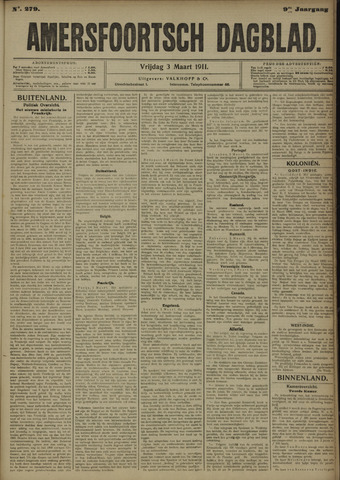 Amersfoortsch Dagblad 1911-03-03