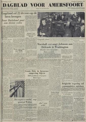 Dagblad voor Amersfoort 1950-09-13