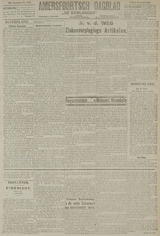 Amersfoortsch Dagblad / De Eemlander 1920-04-09