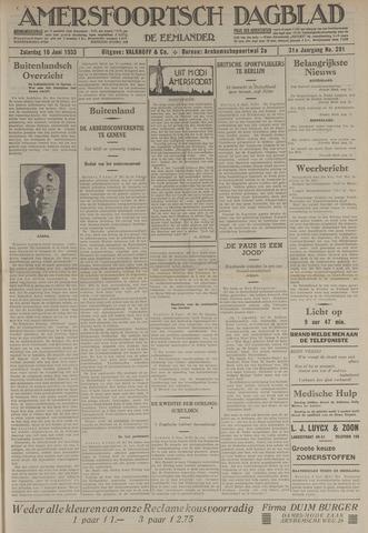 Amersfoortsch Dagblad / De Eemlander 1933-06-10