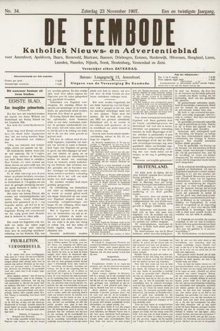 De Eembode 1907-11-23