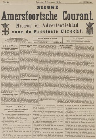 Nieuwe Amersfoortsche Courant 1915-08-07