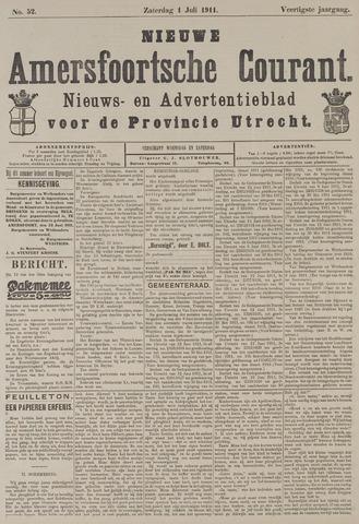 Nieuwe Amersfoortsche Courant 1911-07-01
