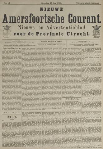 Nieuwe Amersfoortsche Courant 1896-06-27