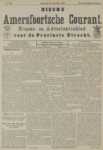 Nieuwe Amersfoortsche Courant 1907-12-14