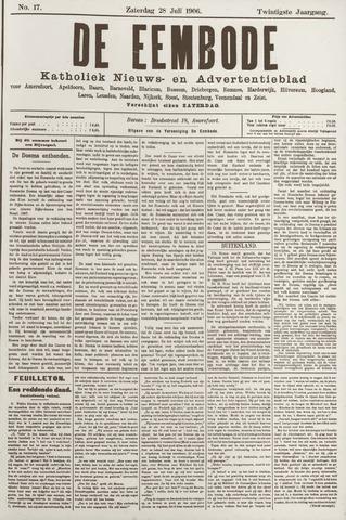 De Eembode 1906-07-28