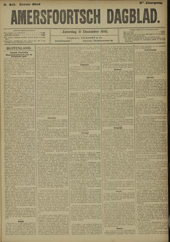 Amersfoortsch Dagblad 1910-12-31