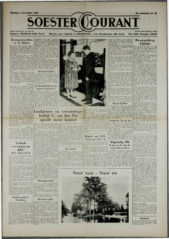 Soester Courant 1966-11-01