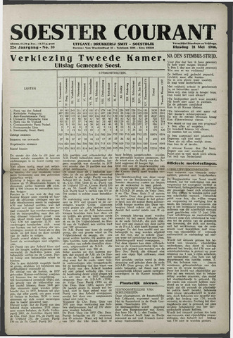 Soester Courant 1946-05-21
