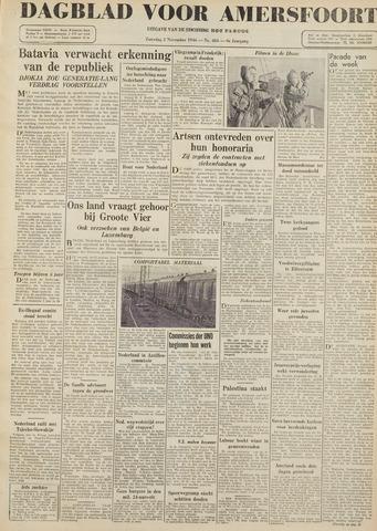 Dagblad voor Amersfoort 1946-11-02