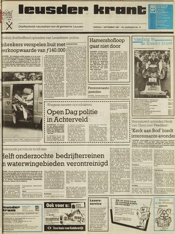 Leusder Krant 1987-09-01
