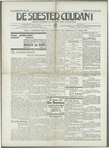 Soester Courant 1934-07-27