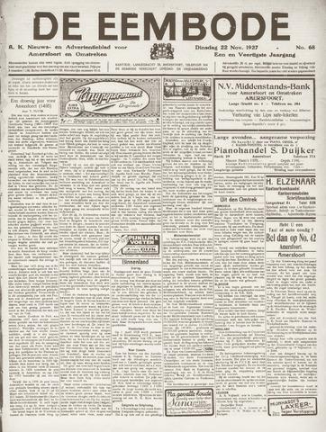 De Eembode 1927-11-22